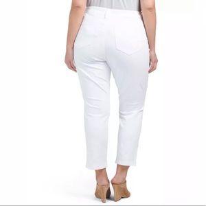 NYDJ Pants - NYDJ Plus Audrey Fine Line Twill Ankle Pants